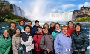 Reunion of the Tri-Deltas of the '70s at Niagara Falls, hosted by Louise Dawe