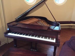 newly refinished piano